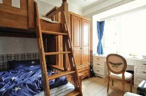 旧房改造 三居 美式 儿童房图片来自今朝装饰老房装修通王在130平小资美式风格的分享