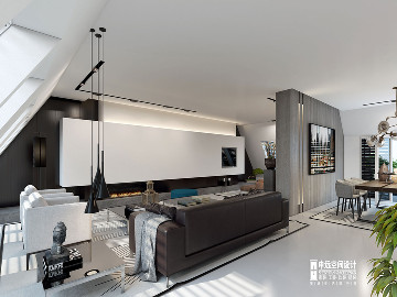 北京申远空间设计-现代风格