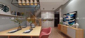 北欧 清新北欧 白领 旧房改造 小资 简约 混搭 清新 舒适 餐厅图片来自二十四城装饰(集团)昆明公司在蓝光·林肯公园  北欧风的分享