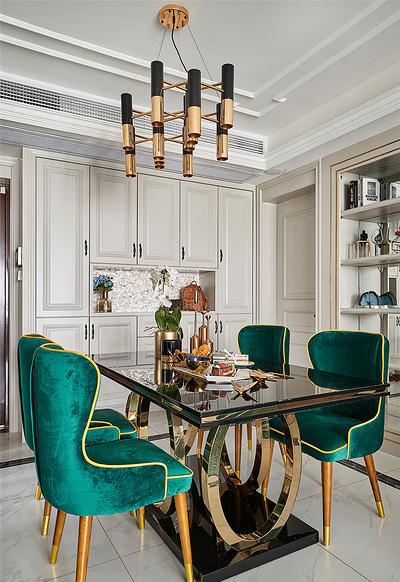 餐厅图片来自家装大管家在温馨味道 110平现代美式混搭3居的分享