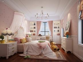 儿童房图片来自朱平波在保利翡翠谷 — 古典美式的分享