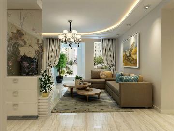 丽江苑 - 现代风格100平 - 2居室