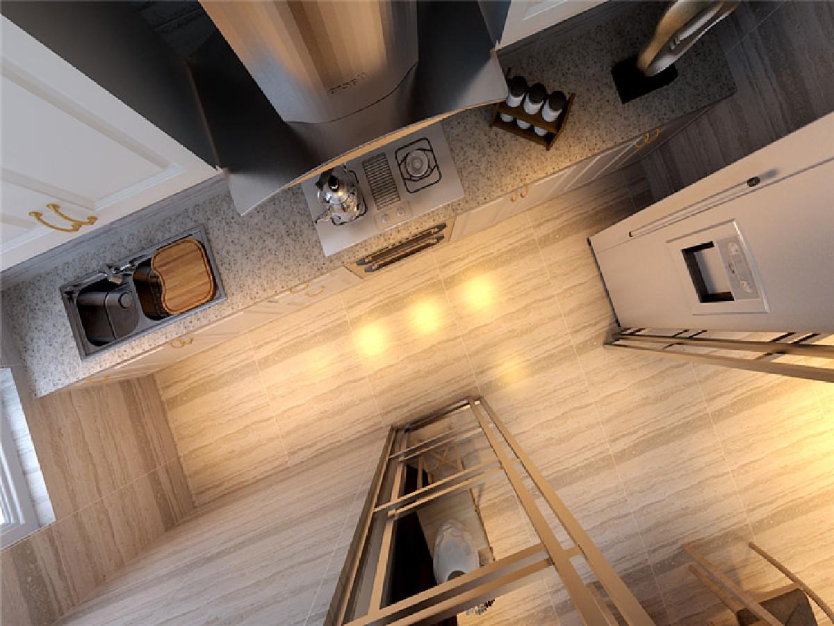 厨房要干净大方的设计,空间光线要着重考虑,推拉门绝对是首选,宽阔感的空间让年轻人爱上做饭的感觉!