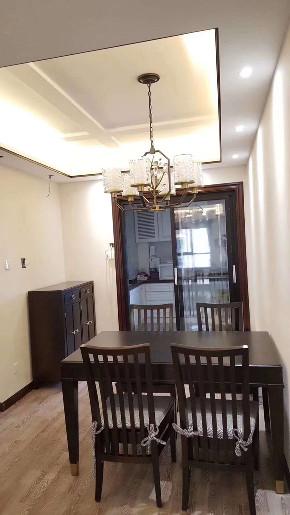 中式古典 三居 白领 小资 餐厅图片来自陕西峰光无限装饰在西派国际三室两厅两卫的分享