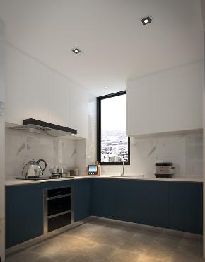 简约 三居 白领 80后 小资 厨房图片来自观巢国际实景家装在二环路旁的极简主义的分享