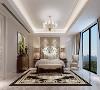 卧室以素色为主,没有任何多余的点缀,看起来非常的素雅大方,简约的帘子带来最妥帖的呵护。精致而又带有古朴风味的卧室吊灯,又为整个空间增加了别致的光彩。