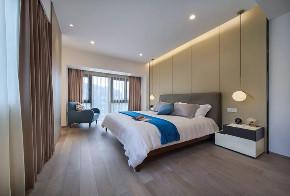 现代 新中式 混搭 全案设计 鹏友百年 重庆家装 卧室图片来自鹏友百年装饰在享受的就是这种禅意生活的分享