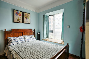 现代简约 新思路装饰 保利观塘 简约 旧房改造 收纳 卧室图片来自重庆新思路装饰在保利观塘(现代简约)110m²效果的分享