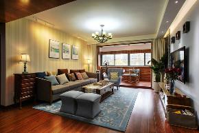 现代简约 新思路装饰 保利观塘 简约 旧房改造 收纳 现代客厅 客厅图片来自重庆新思路装饰在保利观塘(现代简约)110m²效果的分享
