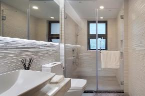 现代 新中式 混搭 全案设计 鹏友百年 重庆家装 卫生间图片来自鹏友百年装饰在享受的就是这种禅意生活的分享