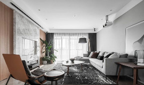 简约 现代 全案设计 鹏友百年 重庆家装 客厅图片来自鹏友百年装饰在现代简约三口之家的分享