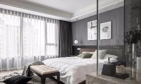 简约 现代 全案设计 鹏友百年 重庆家装 卧室图片来自鹏友百年装饰在现代简约三口之家的分享