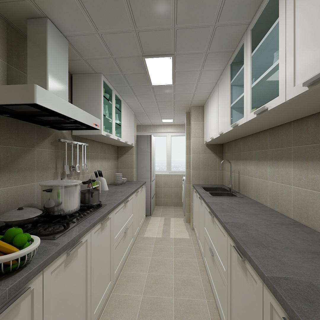 混搭 二居 收纳 旧房改造 小资 厨房图片来自北京今朝装饰在北欧混搭的分享