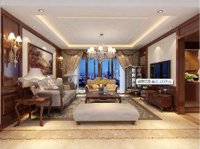 三居 80后 小资 客厅图片来自装家美在中正锦城137平米美式风格的分享