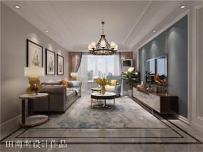 简欧 轻奢风格 三居 旧房改造 小资 客厅图片来自北京今朝装饰在中铁国际城的分享
