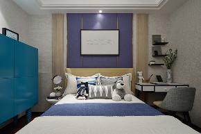 简约 旧房改造 80后 小资 卧室图片来自北京今朝装饰在富力悦居的分享