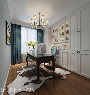 简欧 轻奢风格 三居 旧房改造 小资 书房图片来自北京今朝装饰在中铁国际城的分享