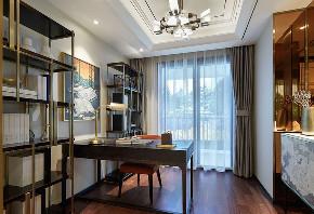 简约 旧房改造 80后 小资 书房图片来自北京今朝装饰在富力悦居的分享