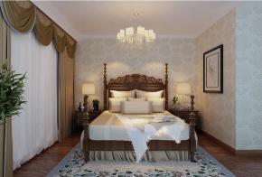 三居 80后 小资 卧室图片来自装家美在中正锦城137平米美式风格的分享