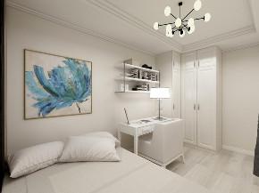 混搭 二居 旧房改造 小资 卧室图片来自北京今朝装饰在简美混搭的分享