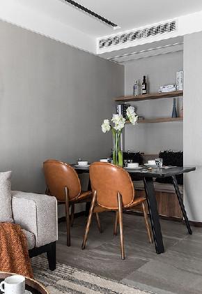餐厅图片来自家装大管家在以简胜繁 100平现代淡雅含蓄3居的分享