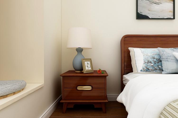 金丝檀木 实木家具 新中式家具 床头柜图片来自浙江阿家咪米在阿家咪米新中式家具美图系列的分享