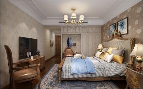 卧室图片来自装家美在首开国风琅樾160平米欧美风格的分享
