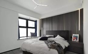 卧室图片来自鹏友百年装饰在以简驭繁,使空间更具深意!的分享