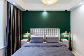 简约 全案设计 鹏友百年 半包 定制家装 卧室图片来自鹏友百年装饰在现代简约,简单轻奢,舒适优雅!的分享