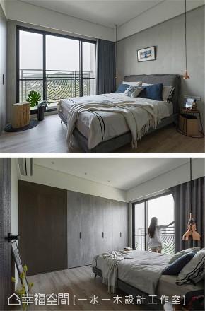 装修设计 装修完成 现代风格 卧室图片来自幸福空间在63平,品味轻生活 形塑画家公寓的分享