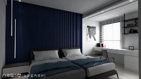 装修设计 装修完成 现代风格 卧室图片来自幸福空间在152平,低奢温润度假雅居的分享