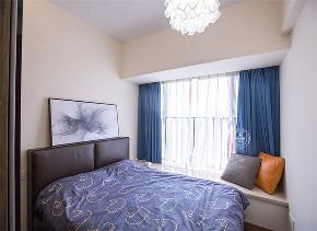 卧室图片来自深圳浩天装饰在110m²华润城,告别随波逐流!的分享