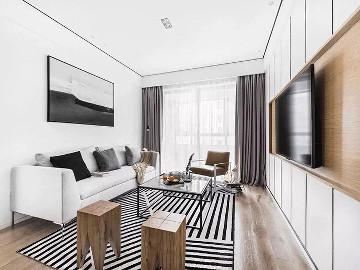 90平米二居室北欧风格