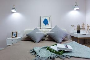 兄弟装饰 北欧风格 简约 小资 卧室图片来自兄弟装饰-蒋林明在保利江上明珠拾年装修|北欧风格的分享