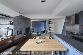 装修设计 装修完成 工业风格 其他图片来自幸福空间在69平,线性设计  蓝调工业宅的分享