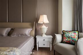 装修设计 装修完成 新古典 卧室图片来自幸福空间在238平,绚染综观 光影恣意流转的分享