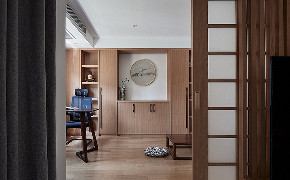书房图片来自家装大管家在140平雅致北欧3居 专享静谧时光的分享