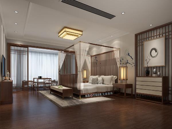 中式家具的木料依旧保持着庄重的色泽,但其中加入浅色的对比,恰到好处的体现了年轻感,既有韵味又兼具时尚,表现出清爽、冷静的感觉。