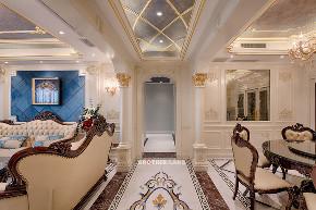 欧式 白领 未来家 客厅 大户型 客厅图片来自兄弟装饰-蒋林明在融创白象街装修|155平大户型设计的分享