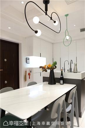 装修设计 装修完成 现代风格 餐厅图片来自幸福空间在89平,大容量风水满分文化宅的分享