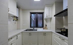 厨房图片来自家装大管家在89平北欧风情居 充满跳跃生机感的分享