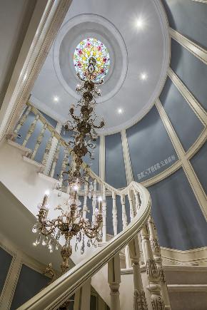 楼梯图片来自重庆兄弟装饰黄妃在龙湖两江新宸独栋别墅装修的分享