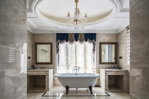 作为浪漫风格的代表,法式风格十分注重细节的展示,包括对于廊柱、雕花、线条、制作工艺等等,都要去极为精细的做工。