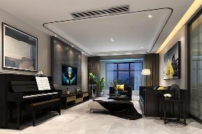 现代 简约 三居 西安装修 80后 客厅图片来自西安城市人家装饰王凯在140平时光交错,影随心动的分享