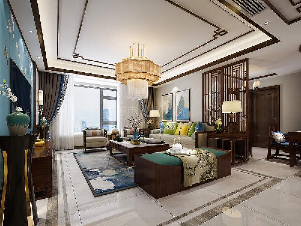 客厅轻松舒适的布置方式,明朗的色调,微暖的灯光,为整个空间定下基调。