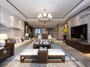 中式装修 西安装修 装修公司 大户型 中式风格 客厅图片来自西安城市人家装饰王凯在245平中式,泼墨煮茶、梦阑酒下的分享