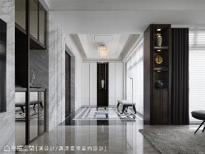 装修设计 装修完成 现代风格 玄关图片来自幸福空间在231平,优雅灰紫调景观宅的分享