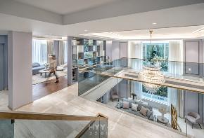 室内设计 别墅设计 现代风格 楼梯图片来自郑鸿在东莞愉景别墅:回归生活美学的分享