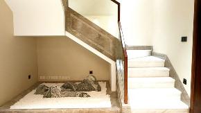 梦想改造家 客厅 中式 别墅 大户型 楼梯图片来自兄弟装饰-蒋林明在万科观承装修|蔡家联排别墅装修的分享