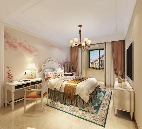 三居 中式 客厅 定制家装 温馨 卧室图片来自业之峰装饰旗舰店在凛冬傲梅的分享